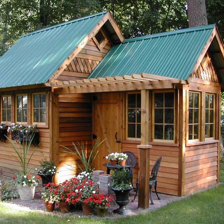 Вам построить маленький дачный домик